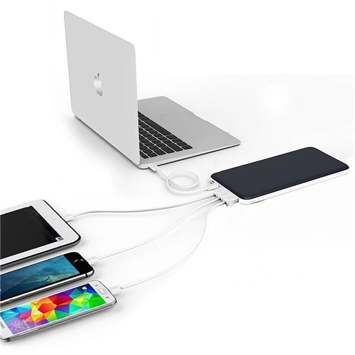 Qfino powerbank competible for multiple devices